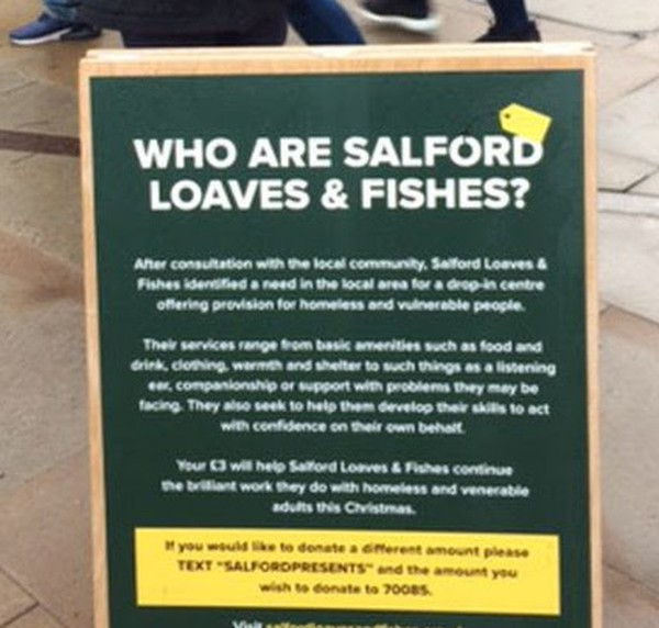 Salford Loaves and Fishes