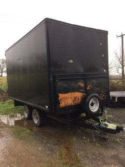 Large box trailers for sale near me