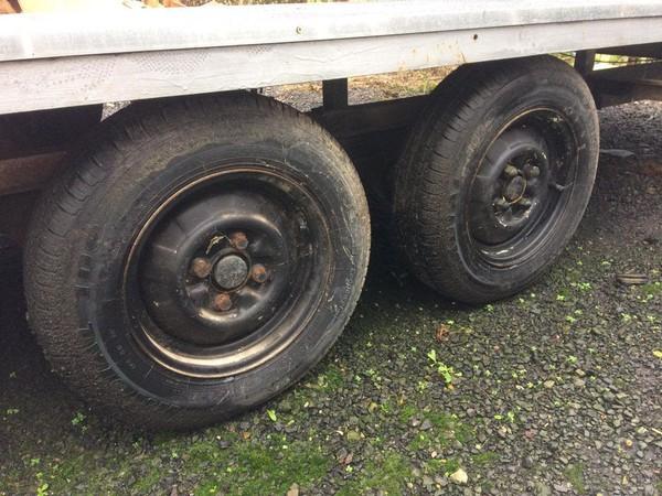 1700Kg max load trailer