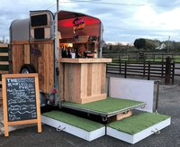 Fully Completed Horse Box Bar