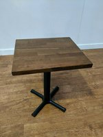 Cafe Wooden Square Tables For Sale