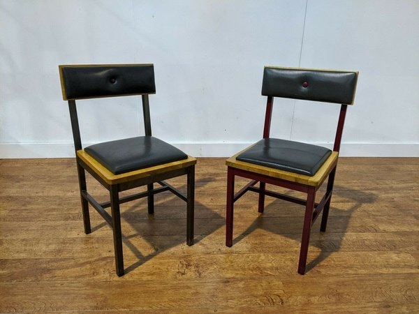 Solid Beech Pub chairs for sale