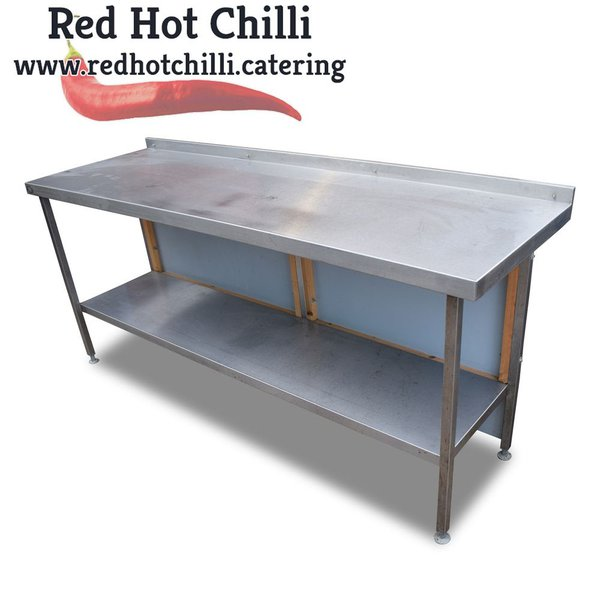 2m Stainless Steel Table (Ref: 770) - Warrington, Cheshire