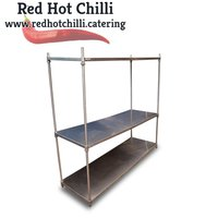 1.8m Stainless Steel Shelving for sale