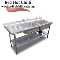 1.8m Stainless Steel Double Sink (Ref: 775) - Warrington, Cheshire