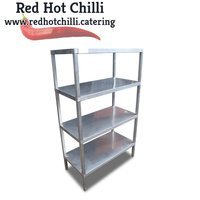 0.9m Stainless Steel Shelving Unit (Ref: 777) - Warrington, Cheshire