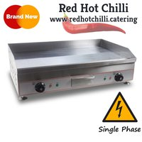 Counter Top Electric Griddle Solid Plate 100CM