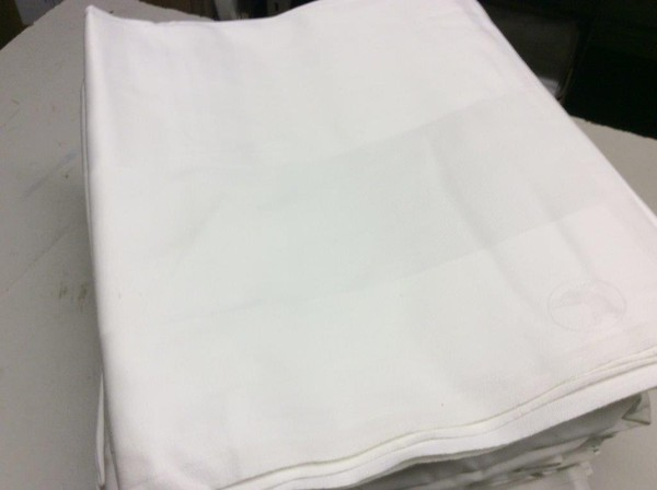 70 x 54 Inch NEW White Table Cloths