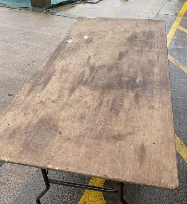 secondhand trestle table for sale
