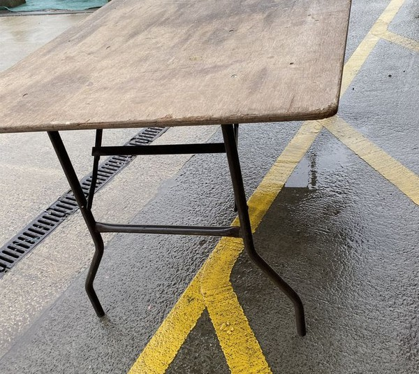tables with folding legs for sale