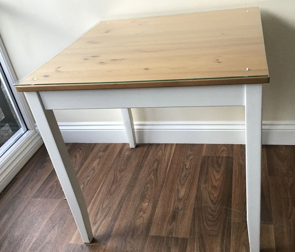 White Solid Pine Tables For Sale