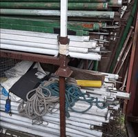 Second hand Marquee Wall Poles For Sale