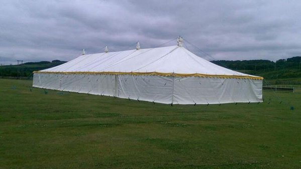 Traditional PVC 30'x90' Marquee