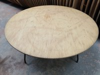 5ft Wooden Round tables for sale