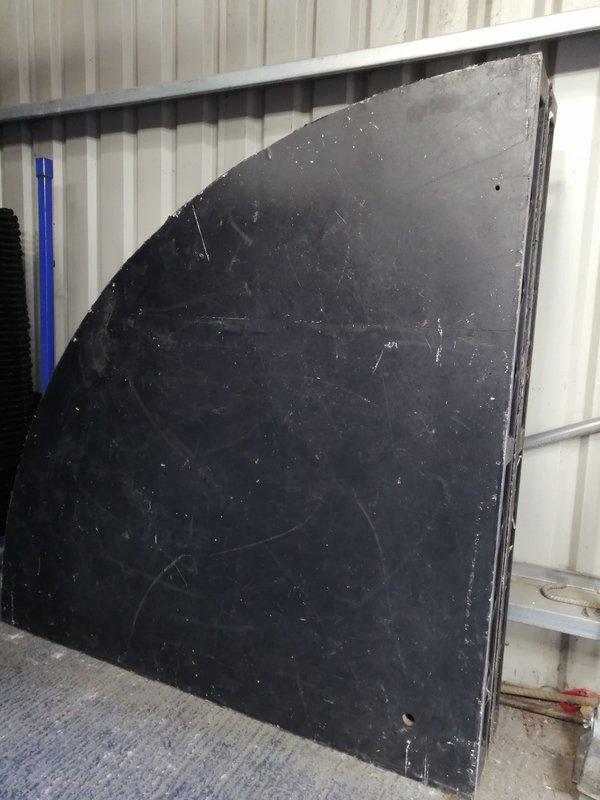 4x 6ft Steel Deck Quadrants for sale