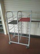 self clearing trolley