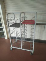 self clearing trolley