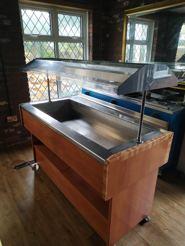 Afinox Hot Food Buffet Counter for sale