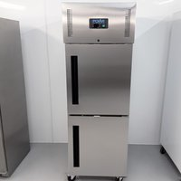 New B Grade Polar CW194 Stainless Single Upright Freezer (U10682)