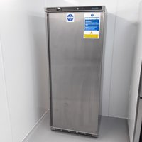 Polar CD085 Stainless Single Upright Freezer
