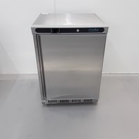 New B Grade Polar CD081 Stainless Single Under Counter Freezer