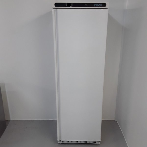 New B Grade Polar CD613 Single Upright Freezer White