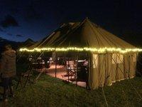 Vintage British Army Tents