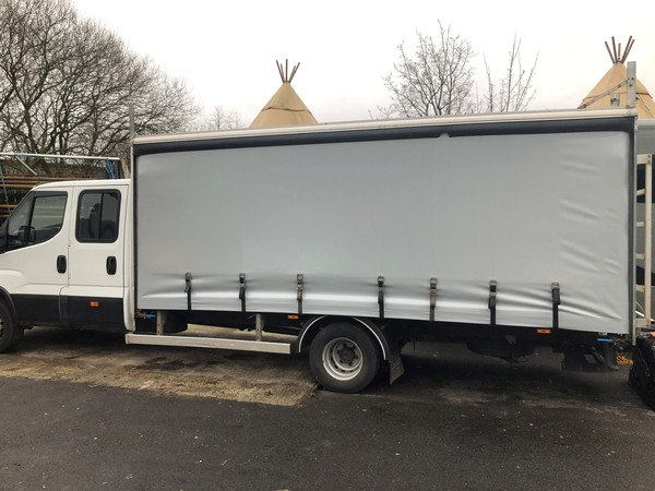 Curtain Side Lorry For Sale