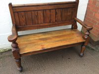 Bench Pub Settle For Sale