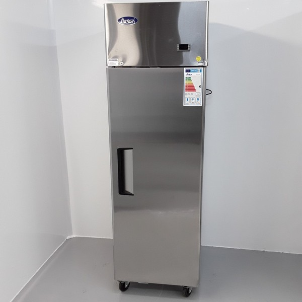 New B Grade Atosa YBF9207GR Stainless Single Upright Freezer