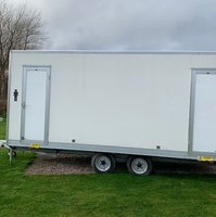 Nearly New Luxury 3+1 Toilet Trailer - Kent