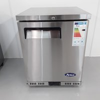 New B Grade Atosa MBC24R Stainless Single Under Counter Fridge (A10693) - Bridgwater, Somerset