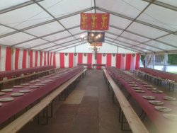 12m x 15m framed marquee for sale