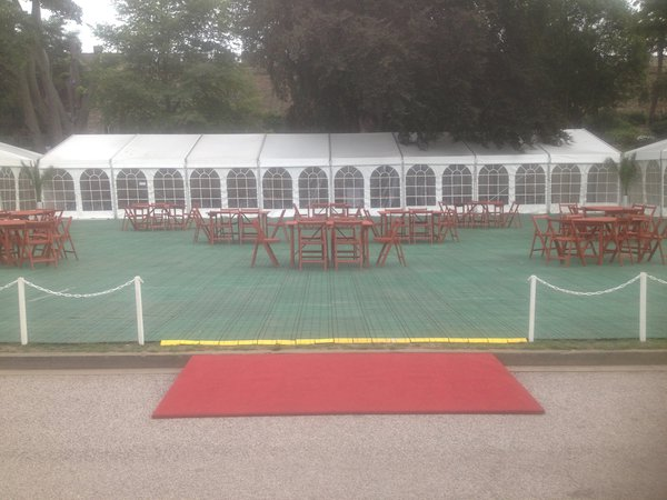 8m x 24m Roder KF marquee for sale