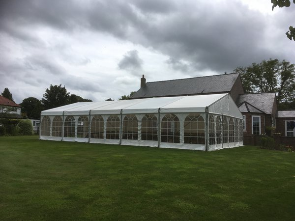 8m x 18m Roder marquee for sale