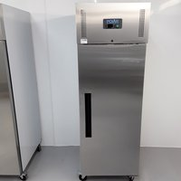 New B Grade Polar U633 Stainless Single Upright Freezer