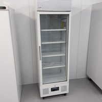 Polar DM076 Single Upright Display Fridge