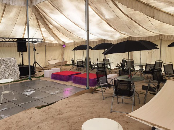 Mugal marquee for sale