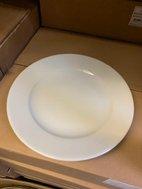 Ruby Porcelite Dinner Plates 26cm