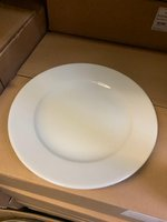 Ruby Porcelite Dinner Plates 26cm