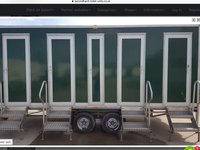4 Bay Gas Showers As New Trailer