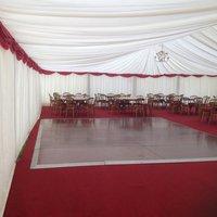 Polished dance floor