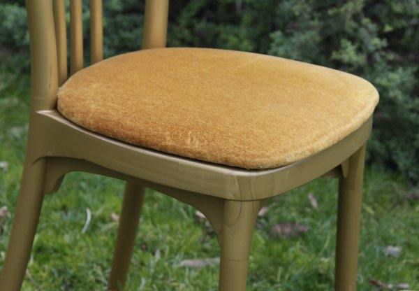 Gold seat pad for sale