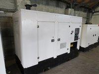 Identical Perkins Super Silent Diesel Generators 100kVA