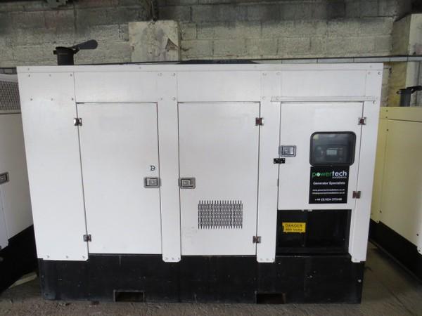 Silent Diesel Generators 100kVA