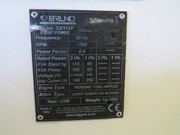 Perkins  Diesel Generators for sale