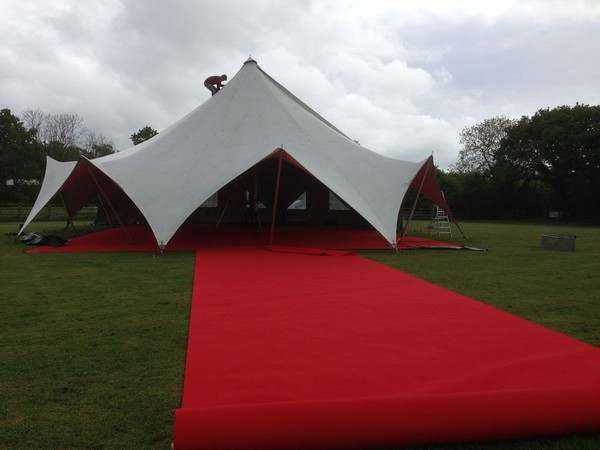 tretch Marquee 48ft x 108ft - Exeter