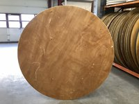 5ft Wooden Round Tables