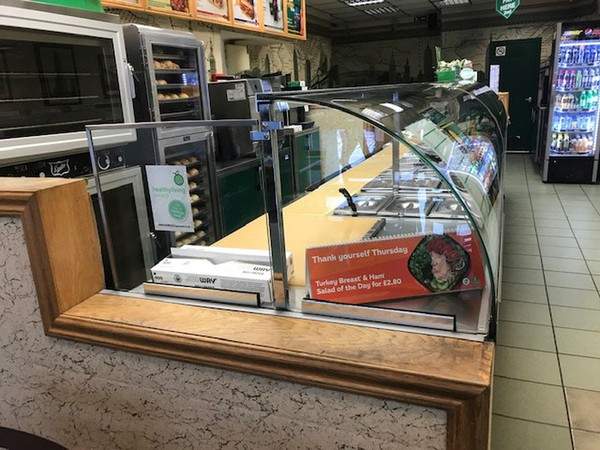 Complete Front Refrigerated Counter For Sale