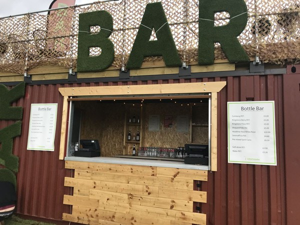 20ft shipping container bar